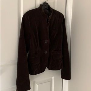 Brown suede Lucky Brand blazer